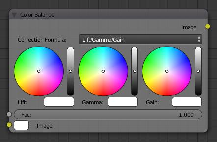 Color Balance Node — Blender Manual