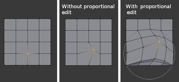 Proportional Edit — Blender Manual