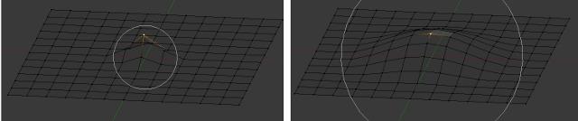 Proportional Edit — Blender Manual
